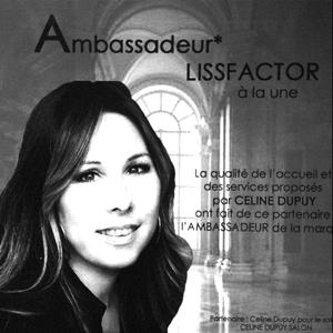 Céline Dupuy Ambassadeur Lissfactor