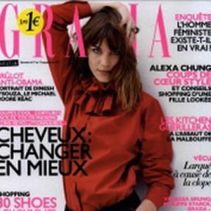 Le salon de Céline Dupuy dans le magazine «Grazia»