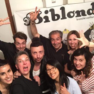 Invitée à la rédaction de Biblond
