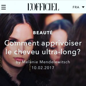 Comment apprivoiser le cheveu ultra-long?