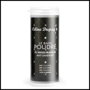 Le bain Poudré à l'argile blanche: Anti-pelliculaire